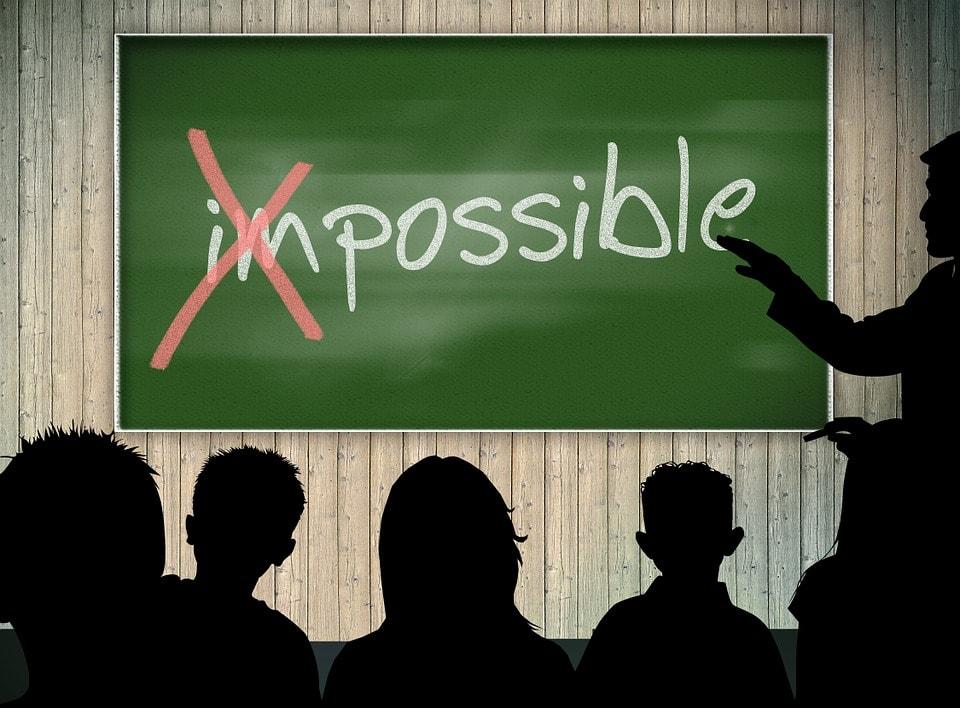 מהו הבלתי אפשרי בחיים